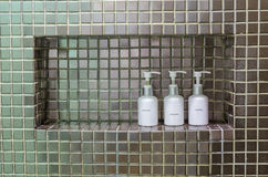 akcesoria do łazienki Zdjęcie Stock