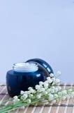 akcesoria kąpać się świeczki target1128_1_ zdroju ręczniki Fotografia Royalty Free