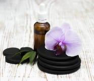 akcesoria kąpać się ciała kawioru klejnotu mleka mydła zdroju kamieni ręczniki obrazy stock