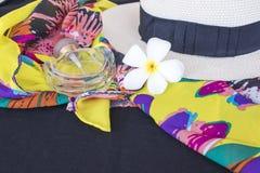 Akcesoria kolorowa kobieta w lecie Fotografia Stock