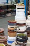 akcesoria meble kawowy drzwiowy groszkuje rękojeści Stubarwne bobiny PVC melanina dla manufaktury meble i krawędź Obrazy Stock