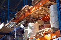akcesoria meble kawowy drzwiowy groszkuje rękojeści Stubarwne bobiny PVC melanina dla manufaktury meble i krawędź Kłamstwo ostros Zdjęcia Stock