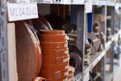 akcesoria meble kawowy drzwiowy groszkuje rękojeści Stubarwne bobiny PVC melanina dla manufaktury meble i krawędź Kłamstwo ostros Obrazy Royalty Free