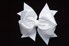 Akcesorium - biały łęk Fotografia Royalty Free