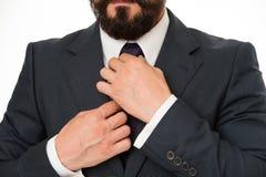 Akcesorium dla biznesmena Szczegół na krawata akcesorium biznesmen przystosowywa krawata akcesorium Specjalny akcesoryjny szczegó Obrazy Royalty Free