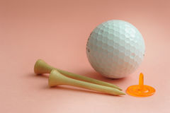 akcesorium golf Obrazy Royalty Free
