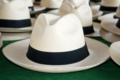 Akcesorium - Panamscy kapelusze fotografia stock