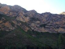 Akchour-Berg stockfoto