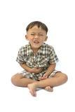 akci chłopiec Zdjęcia Stock