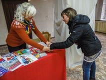 Akci ` dzień dobry czynu ` od ministerstwa emergencies Białoruś w Gomel regionie fotografia royalty free