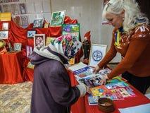 Akci ` dzień dobry czynu ` od ministerstwa emergencies Białoruś w Gomel regionie zdjęcie stock