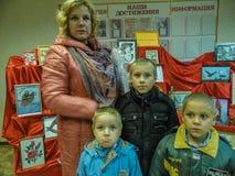 Akci ` dzień dobry czynu ` od ministerstwa emergencies Białoruś w Gomel regionie obrazy stock
