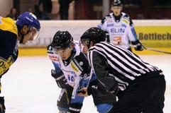 akci gry hokej Fotografia Stock