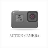Akci kamery krańcowy symbol Fotografia Stock