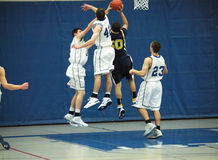 akci koszykówka Zdjęcie Royalty Free