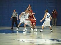 akci koszykówka Fotografia Stock