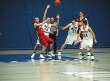 akci koszykówka Zdjęcie Stock