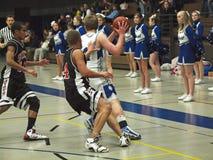 akci koszykówka Obraz Royalty Free