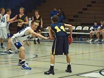 akci koszykówka Obraz Stock