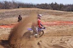 akci motocross Obraz Stock