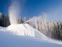 akci producentów śnieg zdjęcie stock