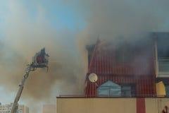 akci strażaka strażaków target681_1_ zdjęcia royalty free