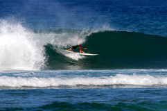 akcja bawi się surfing Obraz Stock