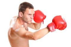 akcja bokser Fotografia Royalty Free