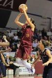 akcja gracze koszykowi żeńscy Obrazy Stock