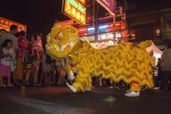 Chińscy nowy rok świętowania Bangkok, Tajlandia - obraz stock