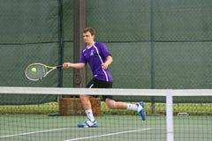 akcja tenis Fotografia Royalty Free