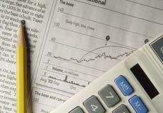 akcje badawcze Obraz Stock