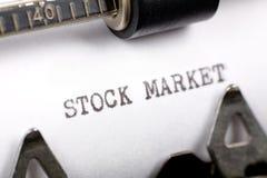 akcje rynku Zdjęcia Royalty Free
