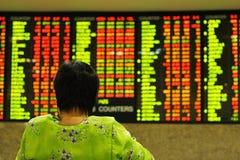 akcje wskaźnika Obraz Stock
