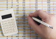 akcje wymiany Obraz Stock