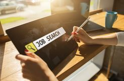 Akcydensowa rewizja, zatrudnienie, rekrutacja i HR zarządzania pojęcie, zdjęcie stock