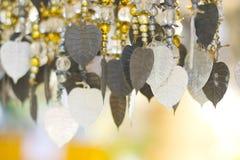 Akcyjna fotografia - Kilka złoty Pho drzewny urlop wiesza dla deco Obrazy Royalty Free