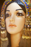 Akcyjna fotografia - portret Cleopatra Zdjęcia Royalty Free