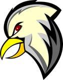 Akcyjna loga orła głowy kreskówka Obraz Royalty Free