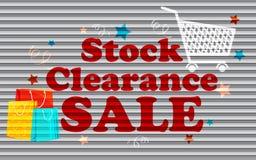 Akcyjna Poremanentowa Sprzedaż Obrazy Stock