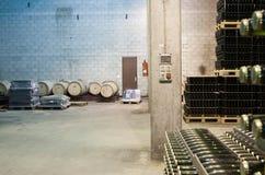 Akcyjna wytwórnia win w Hiszpania Obraz Stock