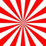Akcyjnego wektorowego Japan słońca czerwonego tapetowego tła promienia tła kwadrata wektorowy ilustracyjny retro format ilustracja wektor