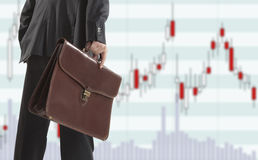 Akcyjny handel Obraz Stock