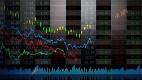 Akcyjny Market_075 royalty ilustracja