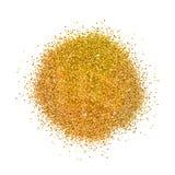 Akcyjny wektorowy ilustracyjny złoto błyska na białym tle Złocisty błyskotliwości tło Złoty tło dla karty, vip, wyłączność na wyw Obraz Royalty Free
