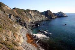 Akcyjny wizerunek Duży Sura przy Kalifornia centrali wybrzeżem, usa Obraz Stock