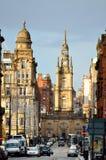 Akcyjny wizerunek Glasgow, Szkocja Fotografia Royalty Free