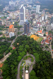 Akcyjny wizerunek Kuala Lumpur miasta linia horyzontu Obrazy Royalty Free