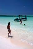 Akcyjny wizerunek plaże przy Negril, Jamajka zdjęcia stock