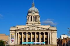 Akcyjny wizerunek Stara architektura w Nottingham, Anglia Zdjęcie Royalty Free